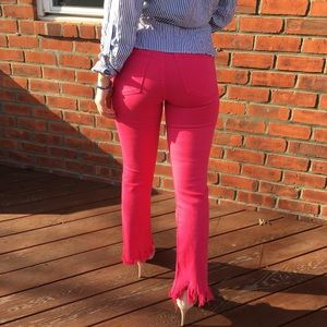 Hot Pink Flare Pants 💗